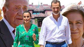 ✅A la reina Letizia le preocupa el rey Felipe y que Juan Carlos regrese en septiembre🤢👑