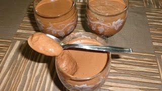 Mousse Au Chocolat -  اسهل طريقة لعمل موس الشوكولاتة