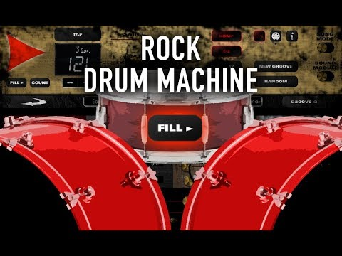 rock drum machine fills in and delay youtube. Black Bedroom Furniture Sets. Home Design Ideas