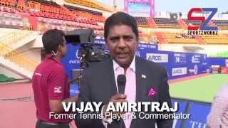 'It's been wonderful working with Sportzworkz' - Vijay Amritraj