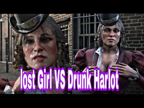 LOST GIRL(Crack Open Safes) Vs DRUNK HARLOT (Blow Up Safes) Bank Heist Red Dead Redemption 2