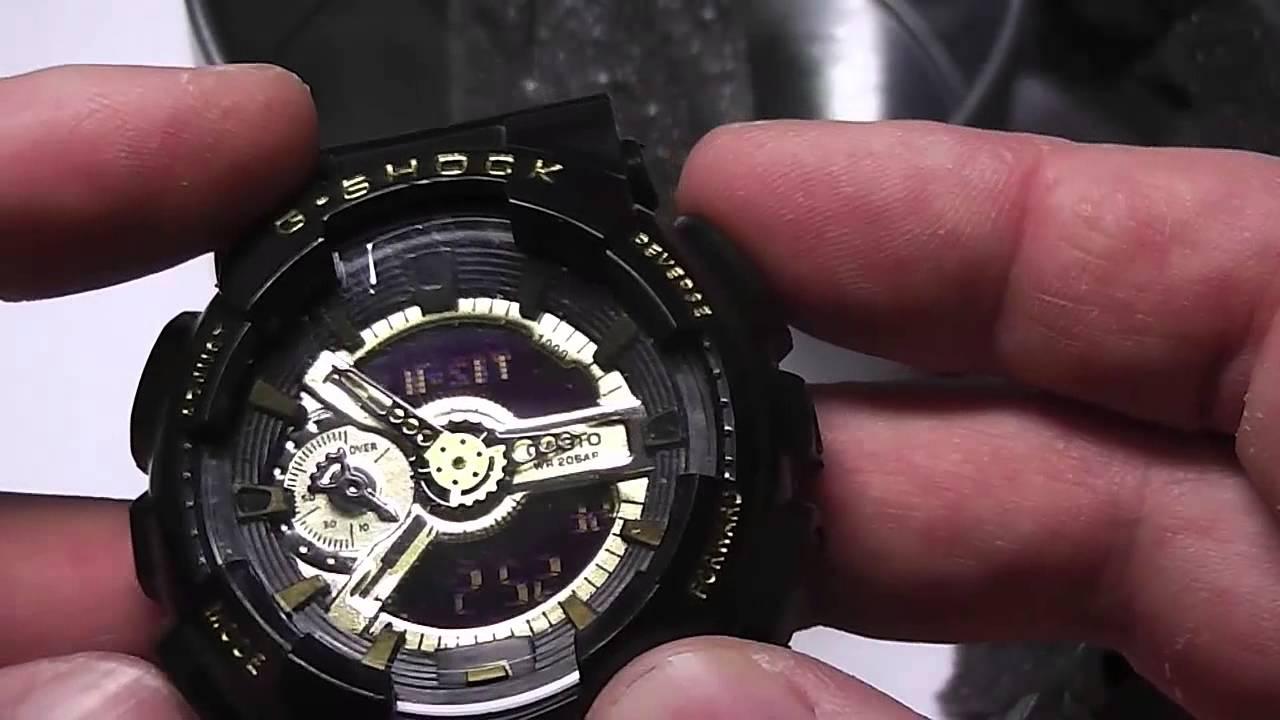 Спортивные часы из Китая! G-shock - YouTube