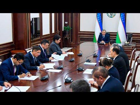 Шавкат Мирзиёев провел совещание, посвященное обсуждению приоритетных задач в обеспечении....