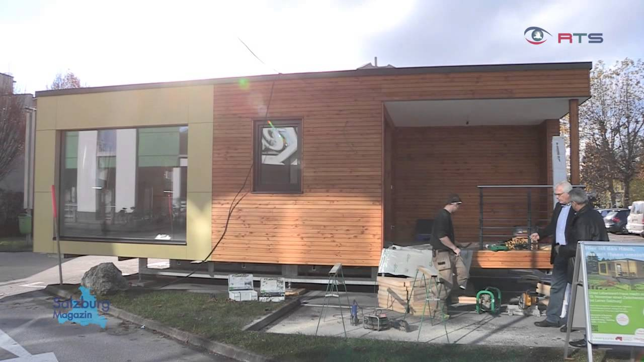Lebenswerthaus mobiles passivhaus for Microhouse osterreich