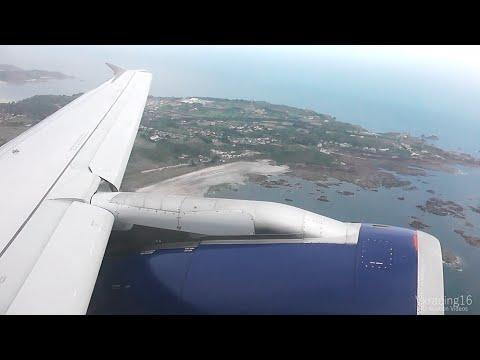 British Airways BA2775 Jersey (JER) - London Gatwick (LGW) *FULL FLIGHT* Airbus A319 G-DBCK 25/5/15