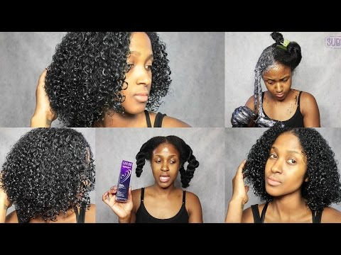 Natural Hair   Coloring My Hair Midnight Blue Black   Color Brilliance   JasmineLaRae