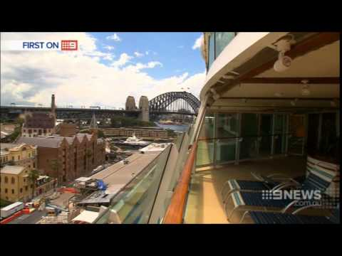 Nine News Sydney: Overseas Passenger Terminal Upgrade (8/12/2014)