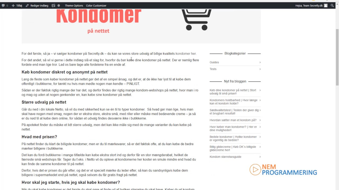 kondomer netto