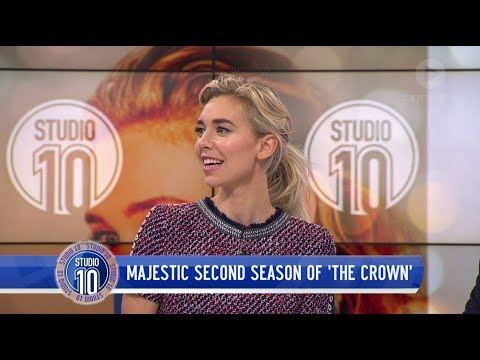 Vanessa Kirby Talks Princess Margaret & 'The Crown'  Studio 10