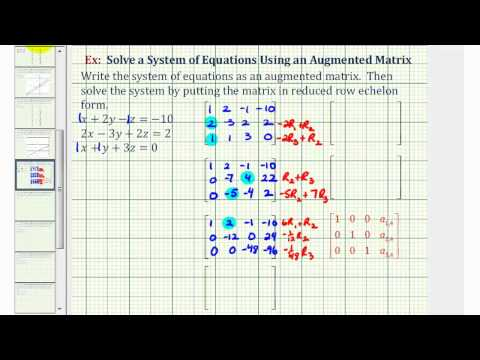 Gauss-Jordan Method of Solving Matrices (with worksheets ... on