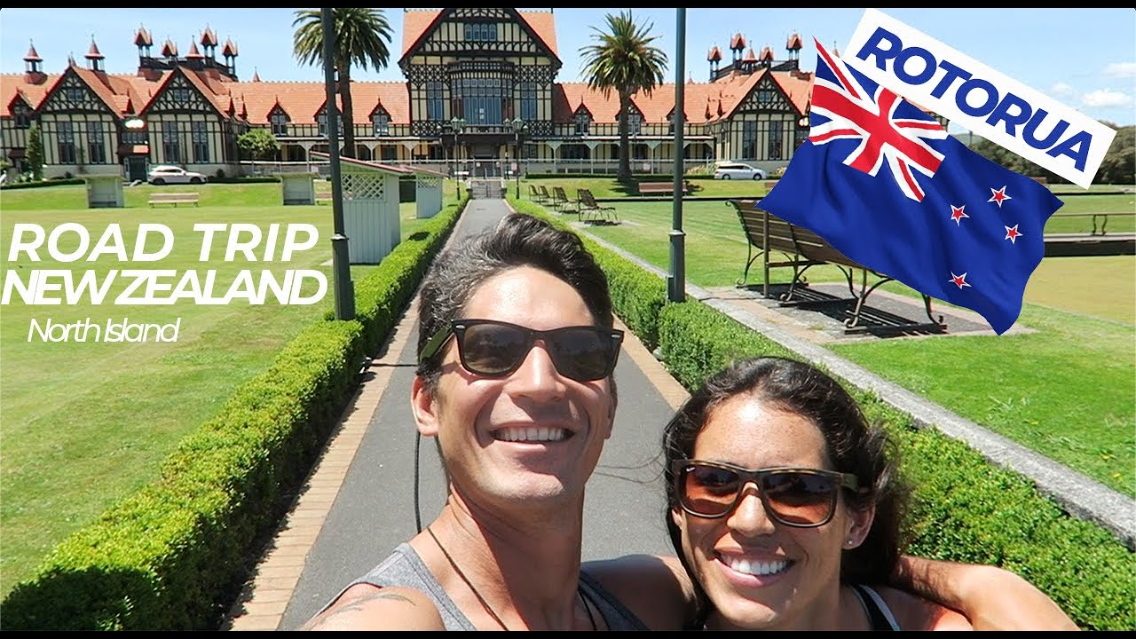 ROAD TRIP NORTH ISLAND NEW ZEALAND - ROTORUA