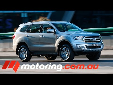 2017 Ford Everest RWD Review