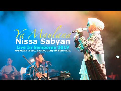 YA MAULANA #NISSA SABYAN LIVE IN SEMPORNA 2019