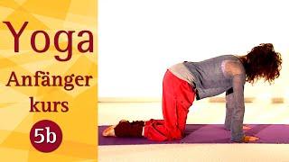 5 B - Mittellange Praxis (5. Woche)  -  Yoga Vidya Anfängerkurs