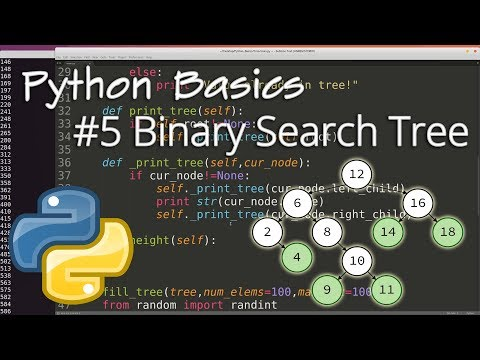 Python Data Structures #5: Binary Search Tree (BST)