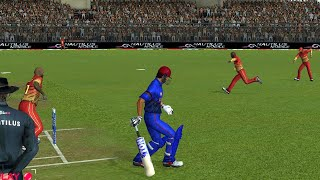 Tri-Series 5th T20 Afghanistan vs Zimbabwe Real Cricket 19 Full Match Gameplay Highlights