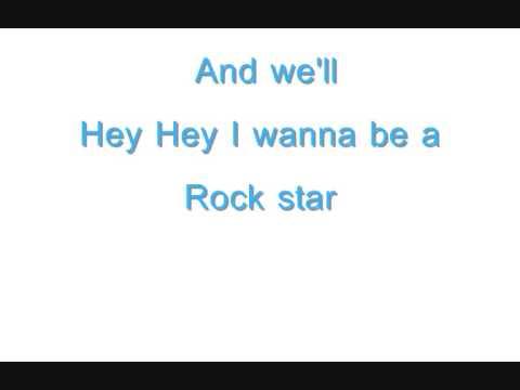 Rockstar - Nickelback {lyrics}