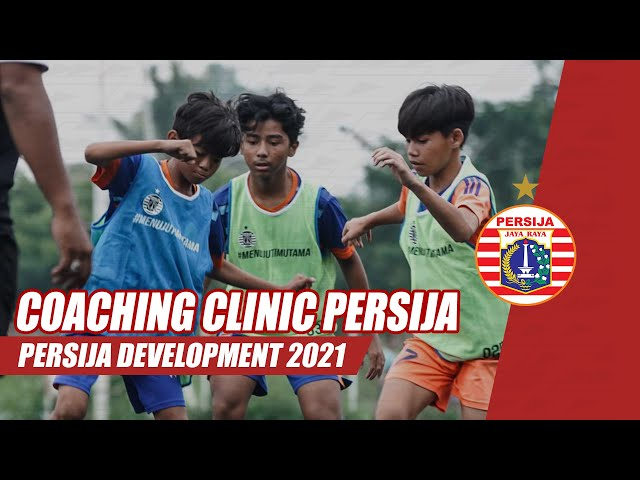 Persija Development Gelar Coaching Clinic Hasil Scouting Jakarta Belajar Bola 2020