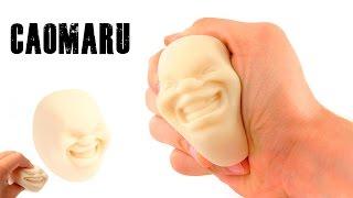 CAOMARU Human Face Antistress Ball