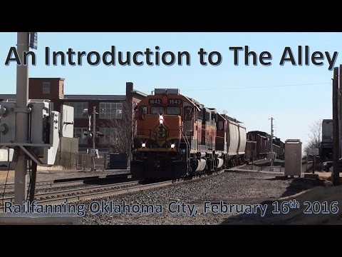 An Introduction to The Alley: Railfanning Oklahoma City, February 16th, 2016