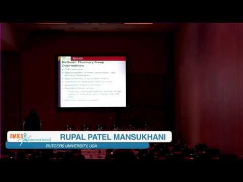 Rupal Patel Mansukhani | USA  | European Pharma Congress   2016 | Conferenceseries LLC