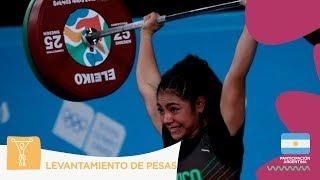 #BuenosAires2018 | #LevantamientoDePesas: Yesica Hernández le trajo el primer Oro a México