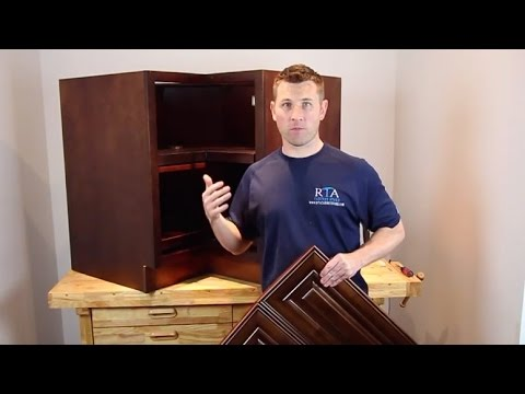 """""""How To"""" Cabinet Assembly - Lazy Susan : RTA Cabinet Store"""