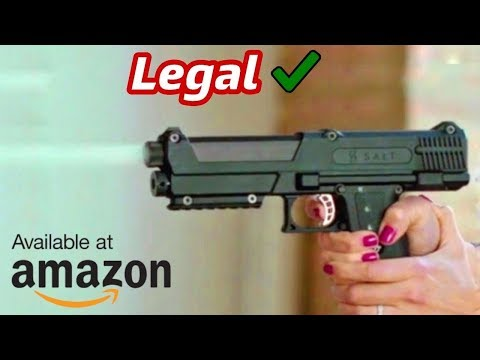 Top 5 Amazing Self Defense Gun You Can Buy On Amazon 2018 | Electronics Gadgets |Crazy New Invention