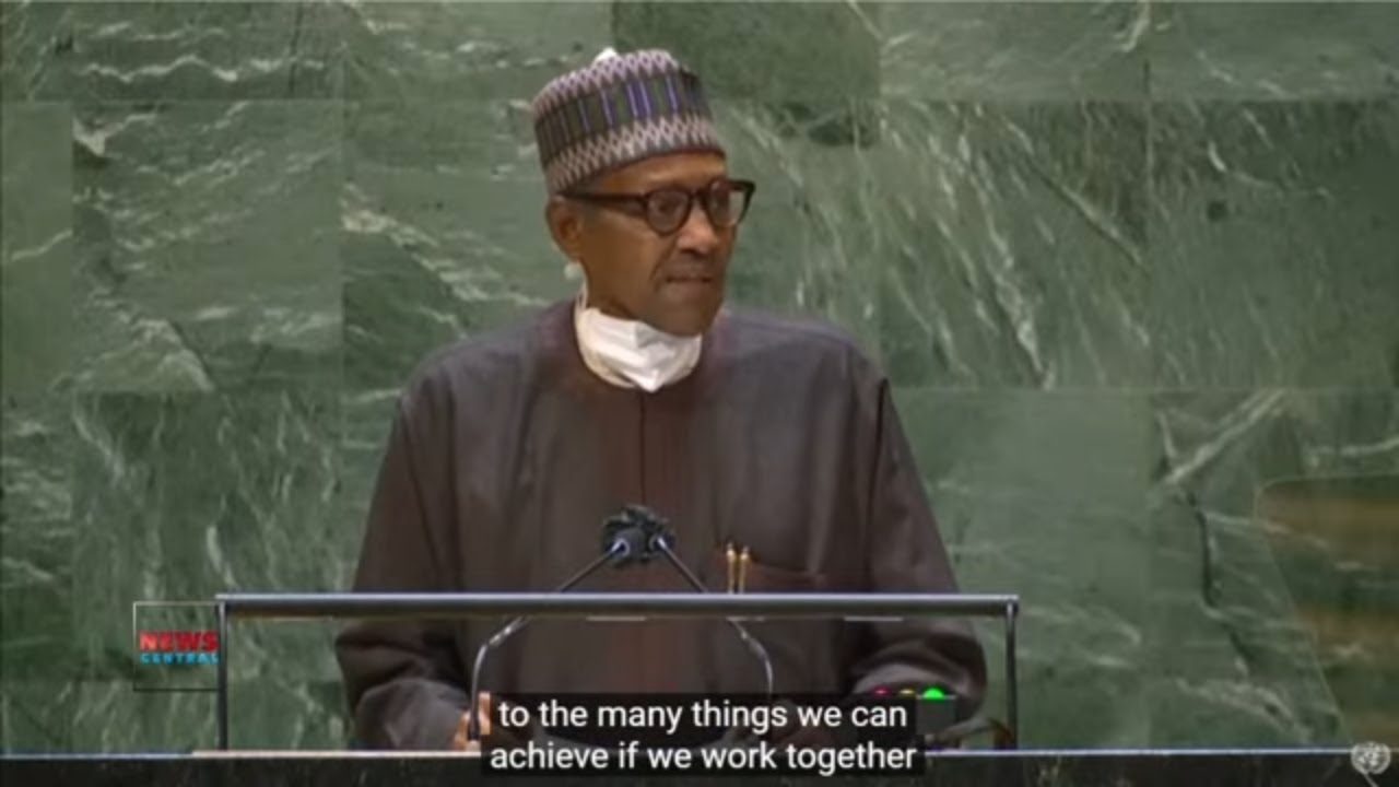 Download President Muhammadu Buhari's Speech At The UN General Assembly 76th Session