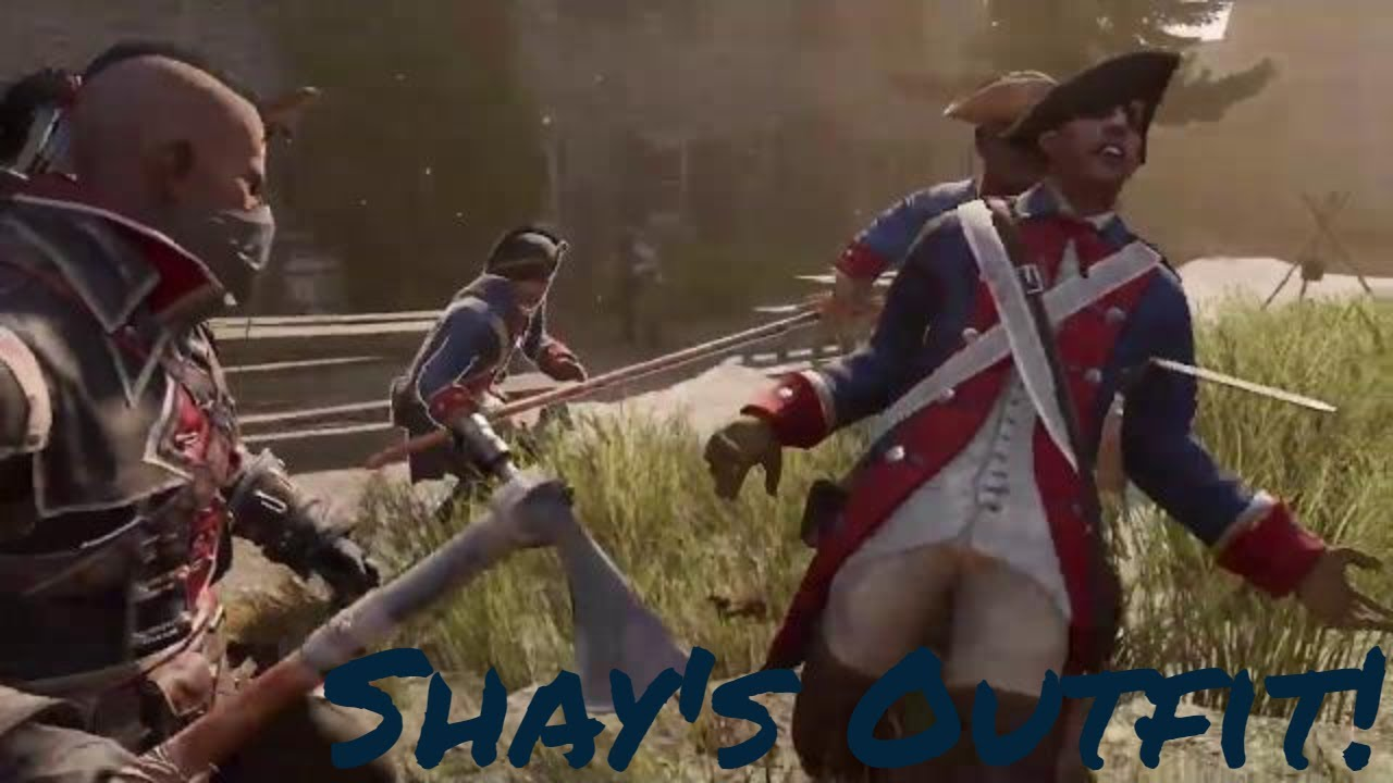 Assassin S Creed Iii Remastered Shay S Outfit And War Tomahawk