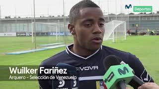 Selección Venezuela: Wuilker Fariñez habla sobre Paolo Guerrero y debut en Brasil 2019