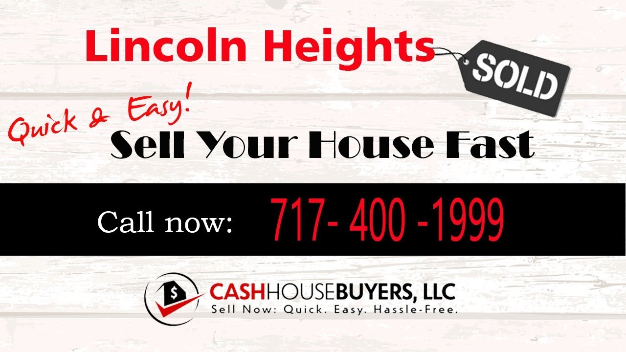 HOW IT WORKS We Buy Houses Lincoln Heights Washington DC   CALL 717 400 1999   Sell Your House Fast