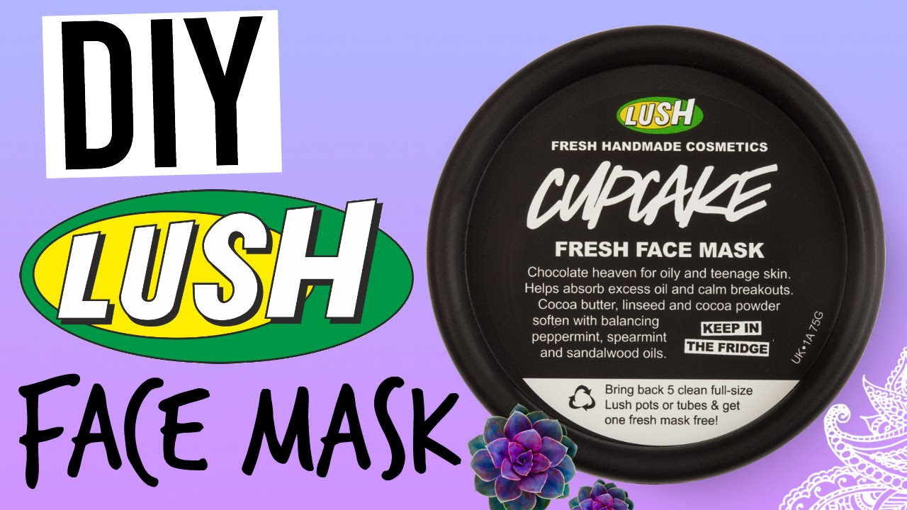 Diy lush cupcake face mask youtube solutioingenieria Choice Image