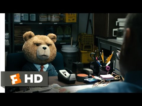 Ted (4/10) Movie CLIP - Job Interview (2012) HD