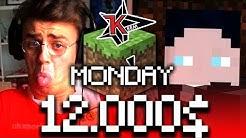 12.000$ Minecraft Tournament (Minecraft Monday)