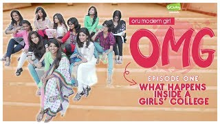 What Happens Inside A Girls College | Oru Modern Girl E01 | Ft. Dipshi Blessy | Put Chutney