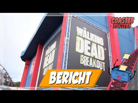 NEU 2016: The Walking Dead Breakout - Movie Park Germany   Presse-Opening