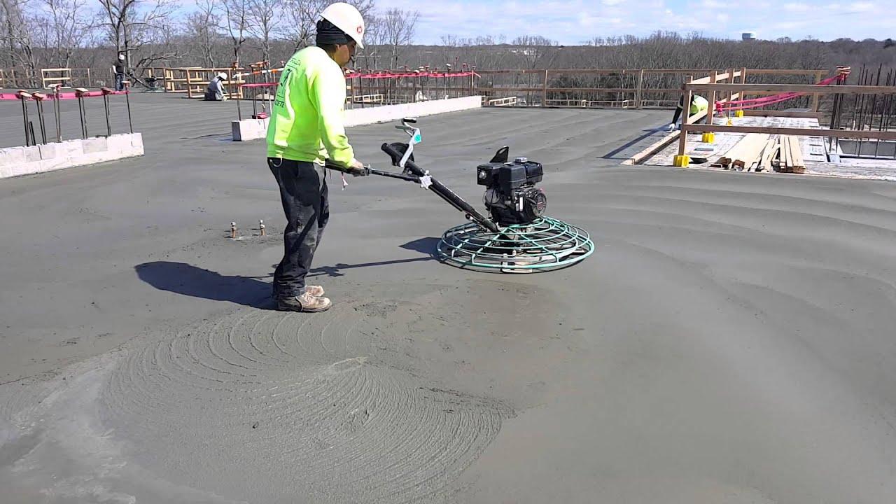 concrete finishing trowel machine