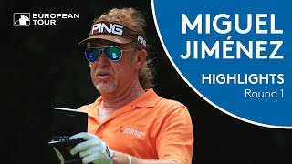 Miguel Ángel Jiménez Highlights | Round 1 | 2018 Shot Clock Masters