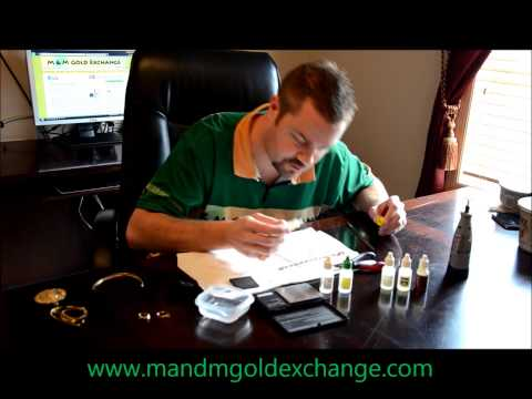 How to test gold? Testing gold. Is my gold real or fake? How to test your precious metals?