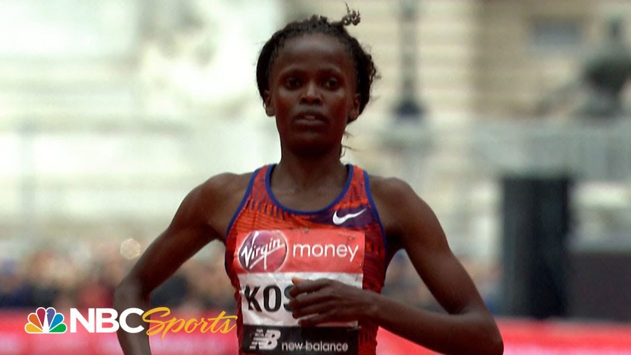 London Marathon 2019 Women's Elite: Brigid Kosgei becomes youngest to win | NBC Sports