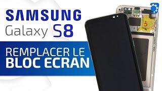 Tutoriel Samsung Galaxy S8 : remplacer l