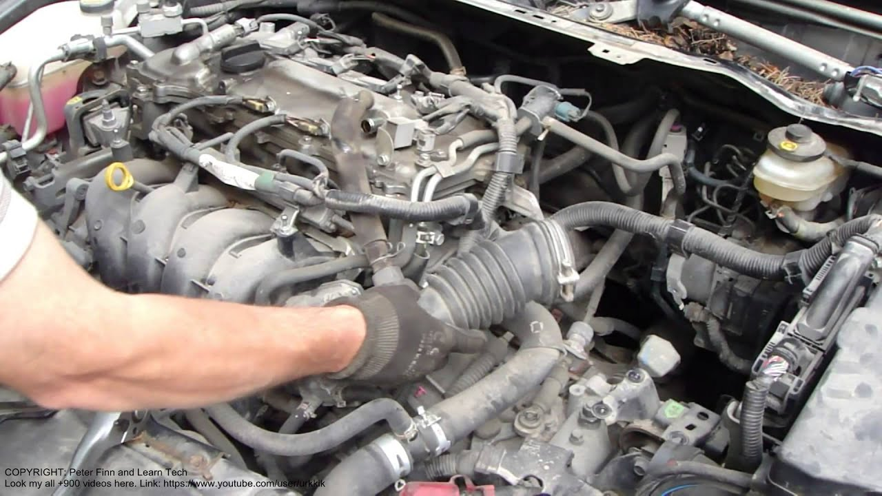 2003 Toyota Corolla Engine Diagram 2001 Hyundai Accent Radio Wiring How To Replace Clutch Years 2007 2015 Part 5/45 Intake Manifold Hose ...
