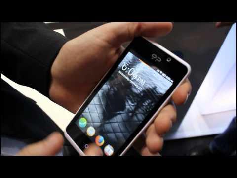 Geeksphone Peak, con Firefox OS