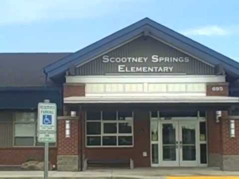 Tour of exterior of Scootney Springs Elementary School - Othello, WA by Brian Gentry