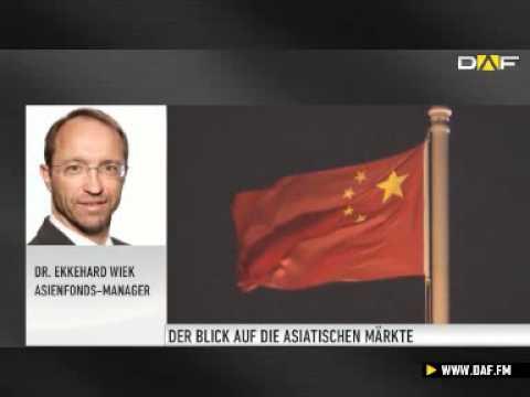 Asien Aktuell: Aufschwung in China beflügelt die Märkte