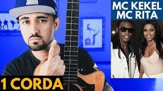 Baixar AMOR DE VERDADE no violão com 1 CORDA (MC Kekel e MC Rita)
