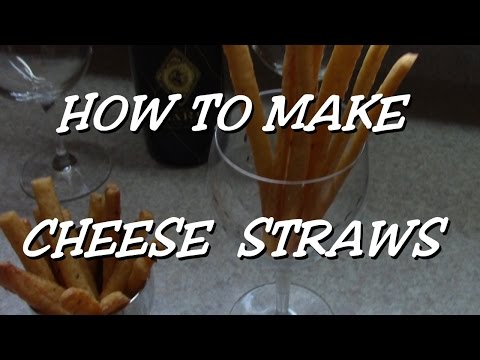 How to make Cheese Straws (cheddar)