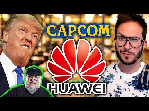 PS5 vs PS4 comparatif vidéo, Huawei lâché par Google, George Martin sur un jeu vidéo...