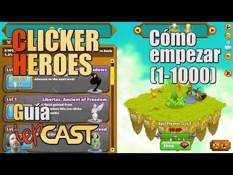 Clicker Heroes - Español - Guía - Cómo Empezar